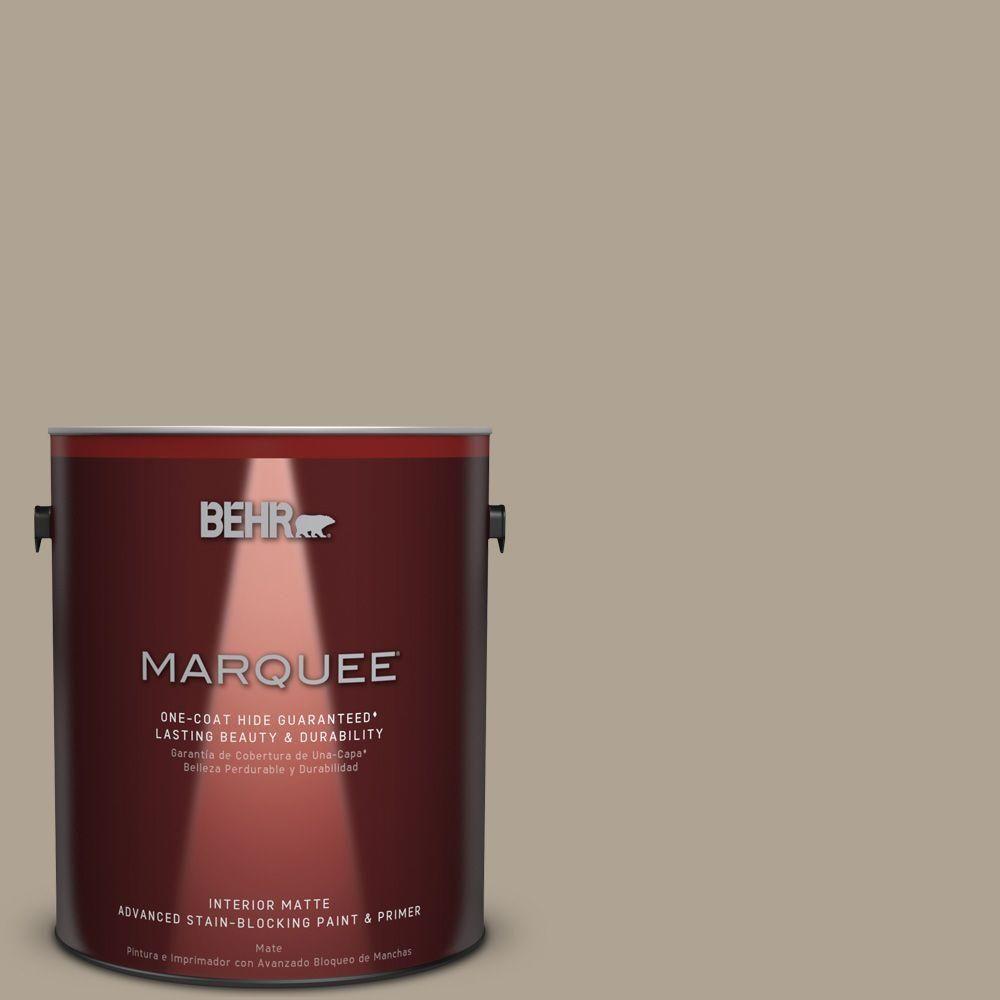 BEHR MARQUEE 1 gal. #730D-4 Garden Wall One-Coat Hide Matte Interior Paint