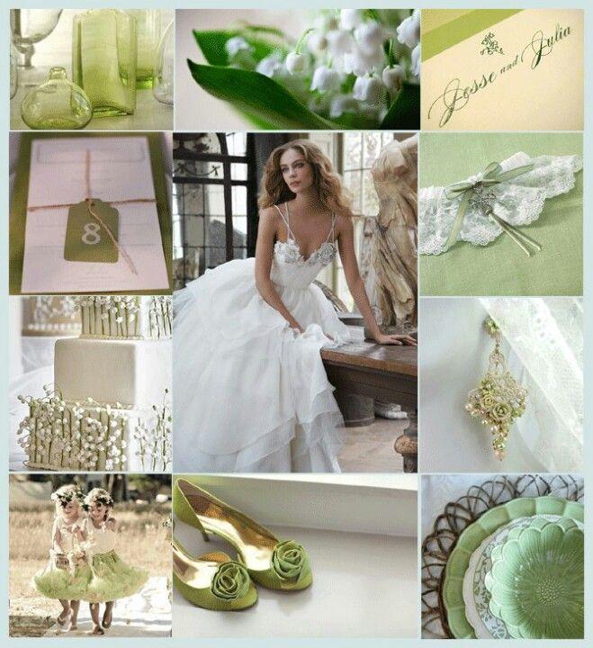 Spring or Summer wedding.