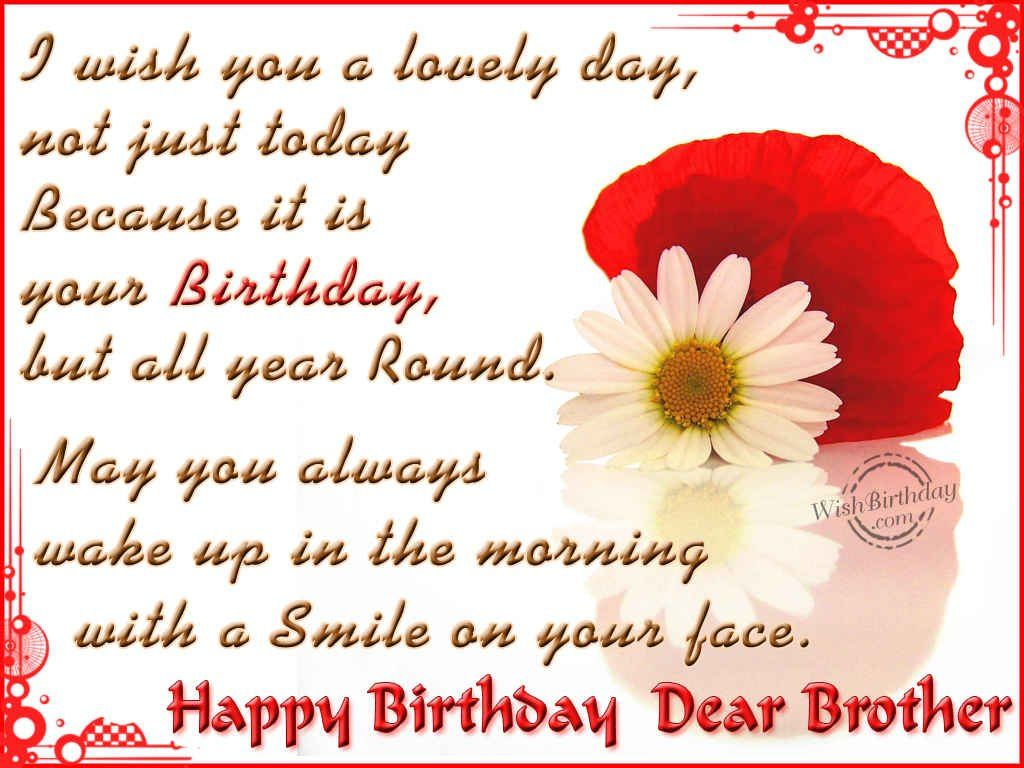 Birthday Wishes For Brother Birthday Images Pictures Happy