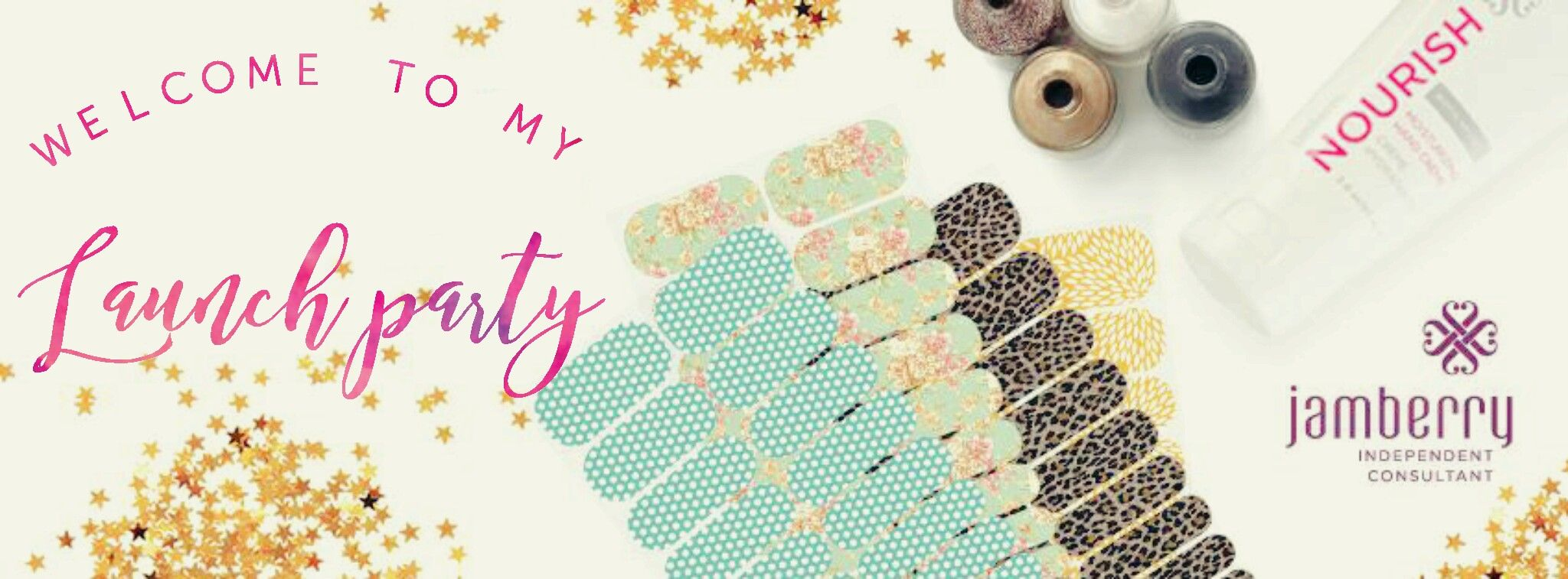 foto de Launch Party Cover Jamberry nails consultant Launch party