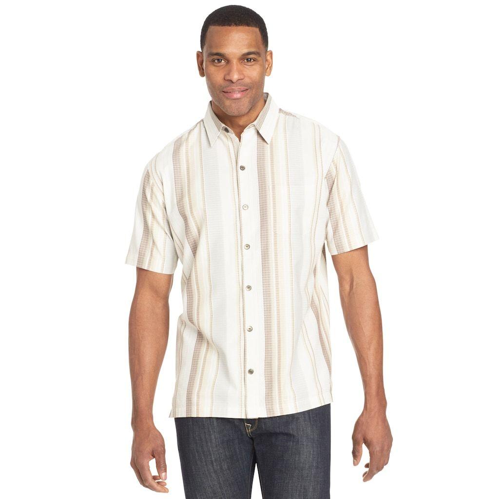 Men S Van Heusen Air Button Down Classic Fit Shirt Workout Shirts Mens Tops Men Casual