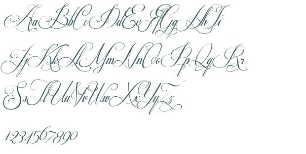 fancy cursive letters fancy cursive stencils respective font free 12760