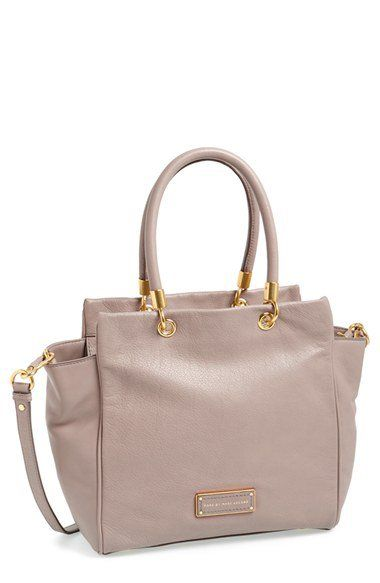 9e5869da2d MARC BY MARC JACOBS 'Too Hot to Handle - Bentley' Leather Tote | Nordstrom