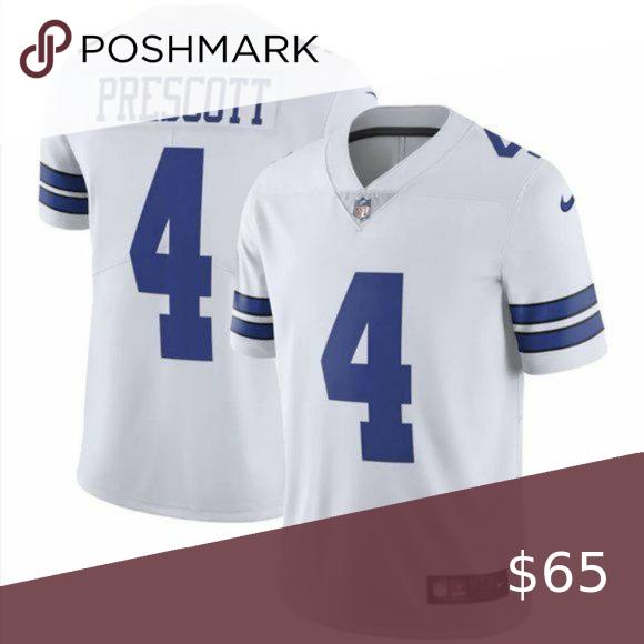 Dallas Cowboys Dak Prescott Vapor Limited Jersey White Jersey Dallas Cowboys Dak Prescott