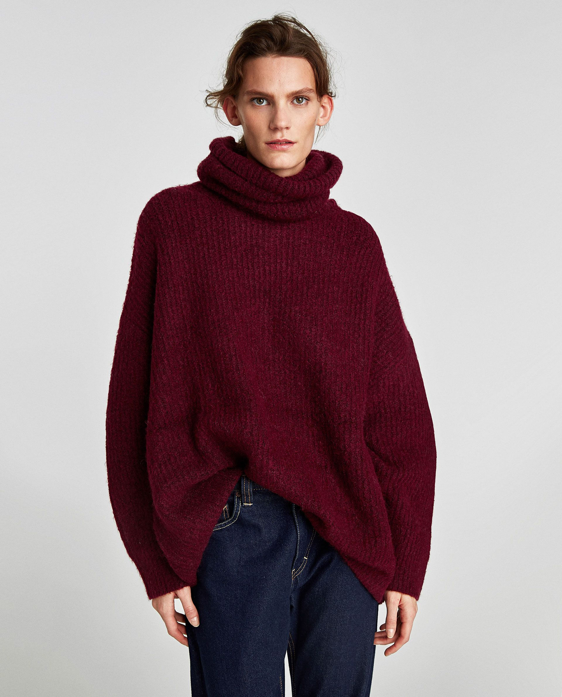51191d1bc OVERSIZED ROLL NECK SWEATER - Available in more colours ...