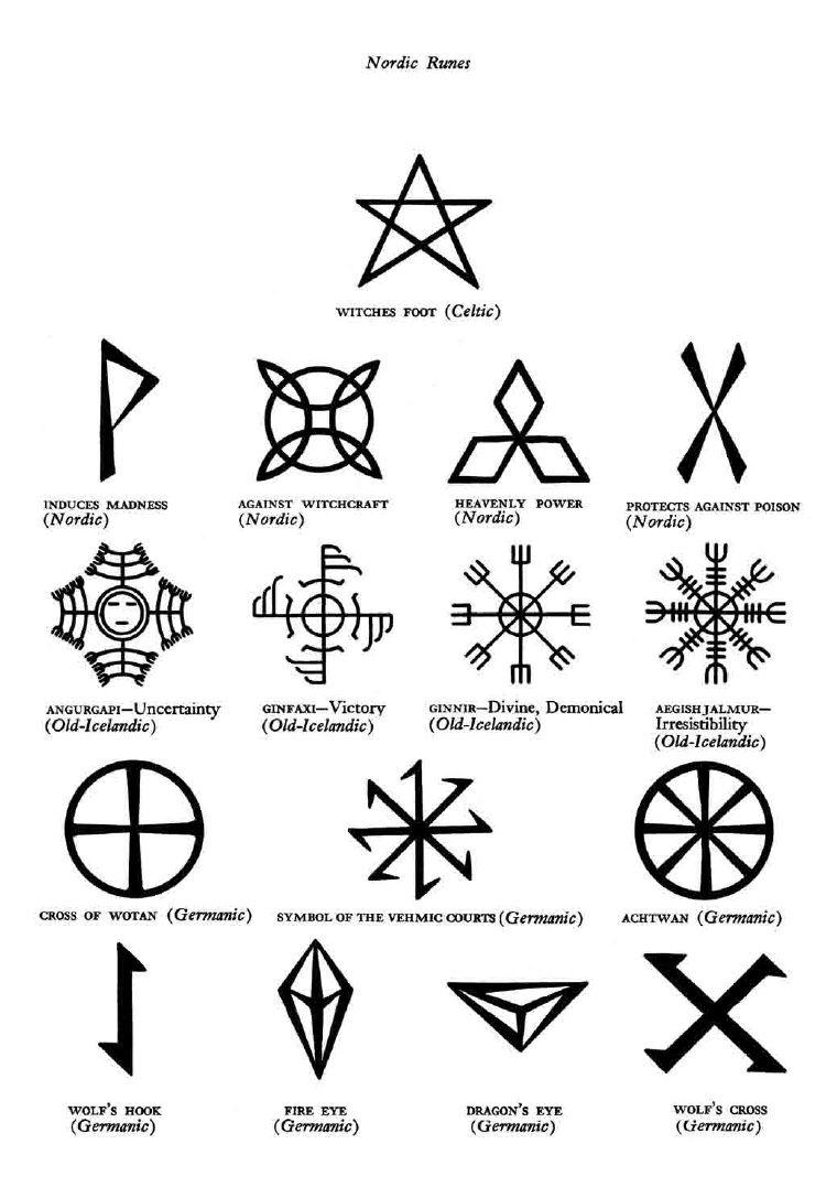 Magic Mystic Symbolsrdic Inspirations N Such In 2018