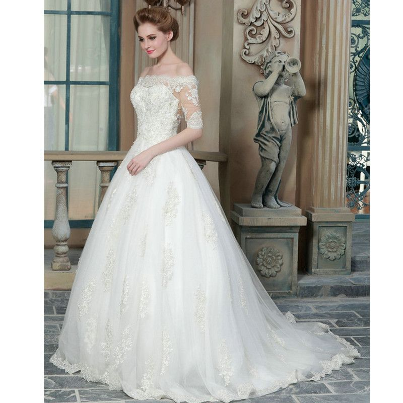 Lace Wedding Gowns 2015