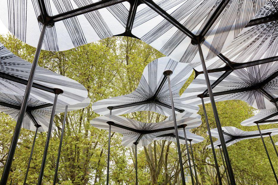 Tree canopy-like MPavilion- Melbourne- Amanda Levete & Tree canopy-like MPavilion- Melbourne- Amanda Levete | Landscape ...