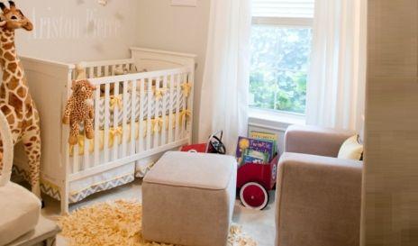 Quarto de bebê savana com girafa gigante | Quarto de bebê - Decoração, bebês, gravidez e festa infantil