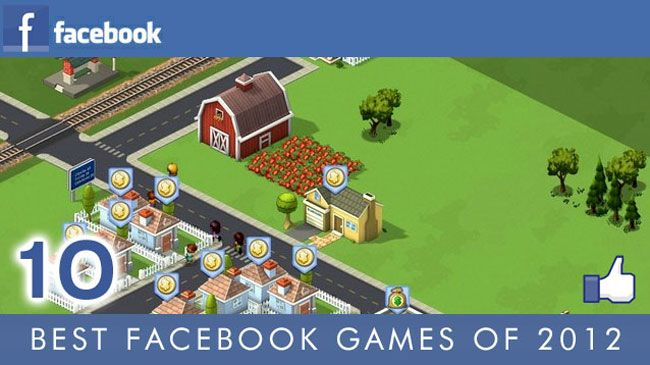 Best Facebook Games of 2012