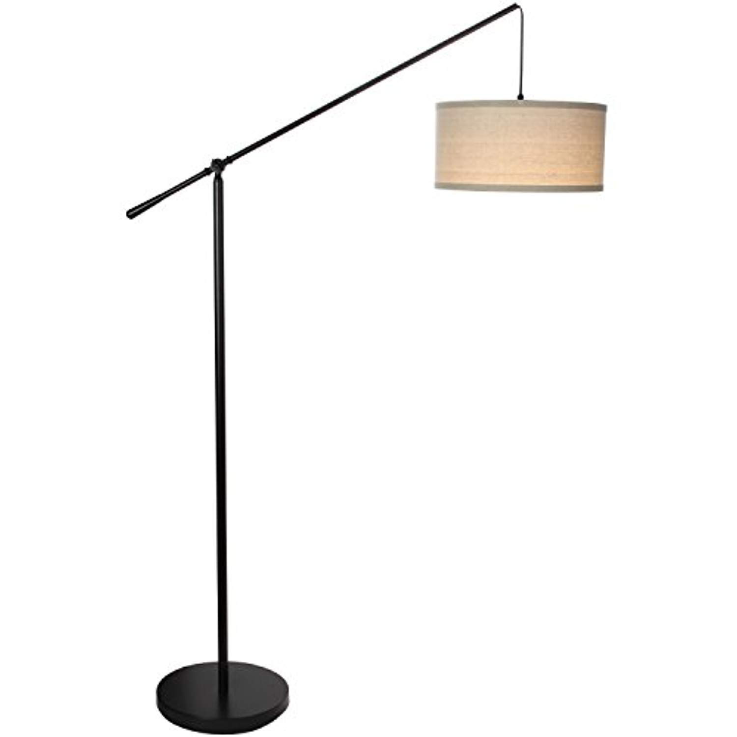 Brightech Hudson 2 Living Room Led Arc Floor Lamp For Behind The Couch Alexa Compatible Pole Hanging Floor Lamp Hanging Lights Living Room Arc Floor Lamps