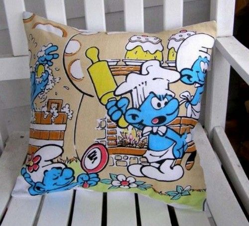 Smurf Pillow Case - Baking Cake #mentionmonday