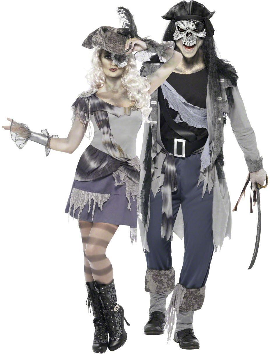 Quatang Gallery- Deguisement Couple Pirate Fantome Halloween Deguise Toi Achat De Deguisements Couples Deguisement Halloween Couple Deguisement Couple Costumes De Couples
