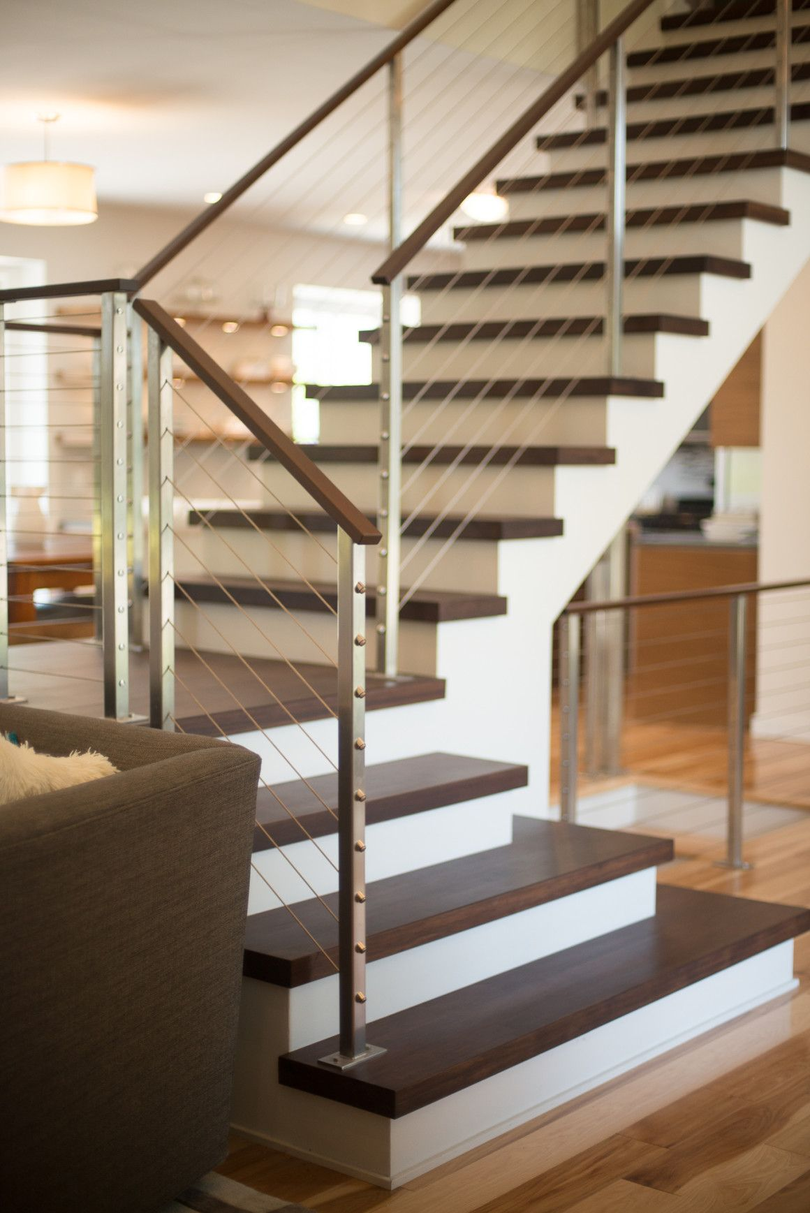 Best Modern Home Remodel South Lyon Michigan Staircase 400 x 300