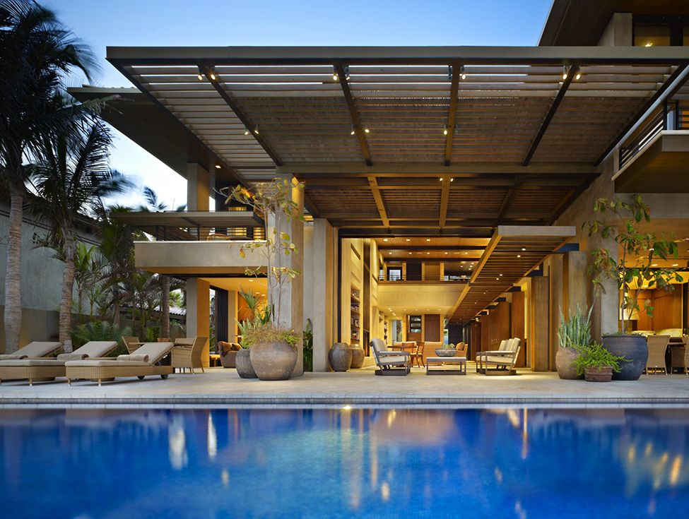 architecture Project Mexico residence Luxurious Mexico Residence with Multiple Outdoor Living Spaces