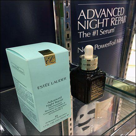 Estee Lauder Beauty Mask Night Repair Display