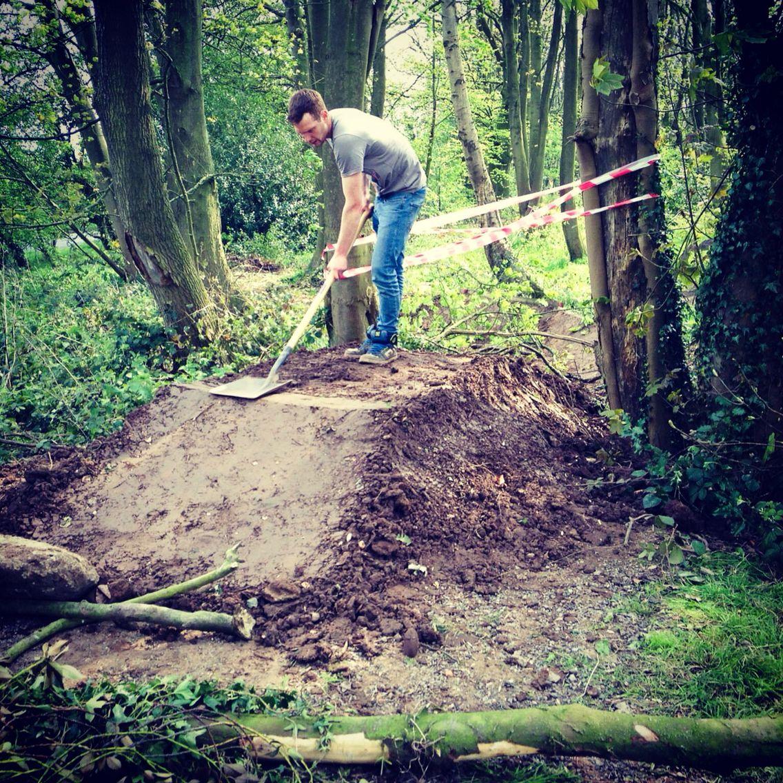 Trail building time again #mtb