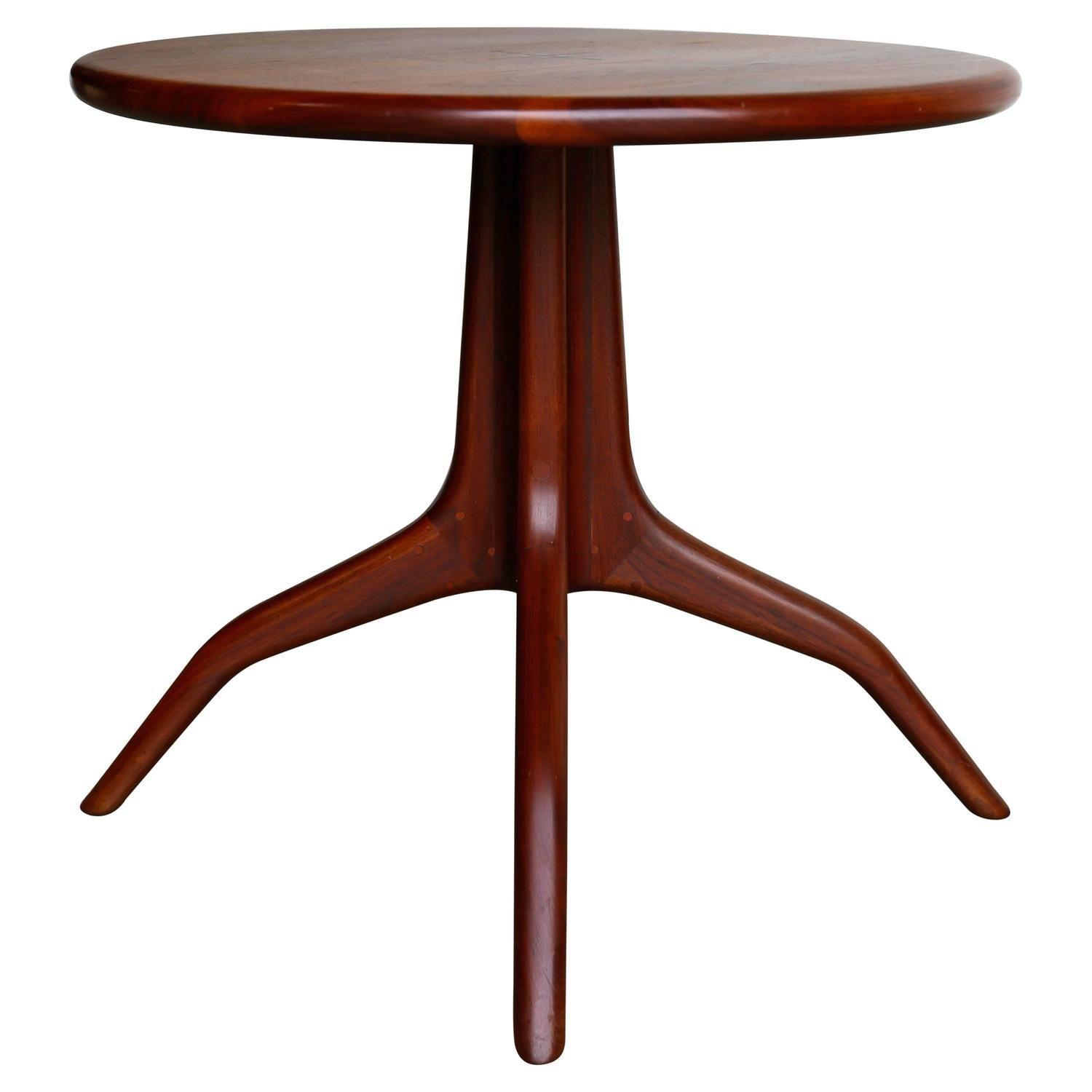 Sculptural Side Table by Sam Maloof | Sam maloof, Tables ...