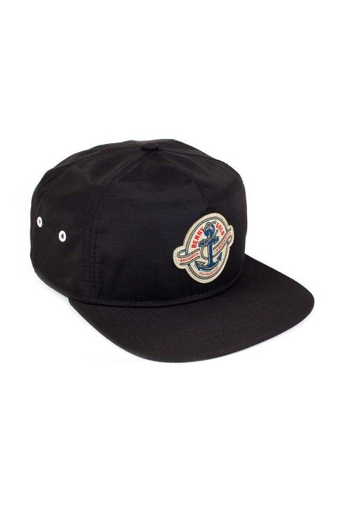 5e2db6fbb3bda The Anchored Snapback Hat from Benny Gold. Nylon unstructured hat ...