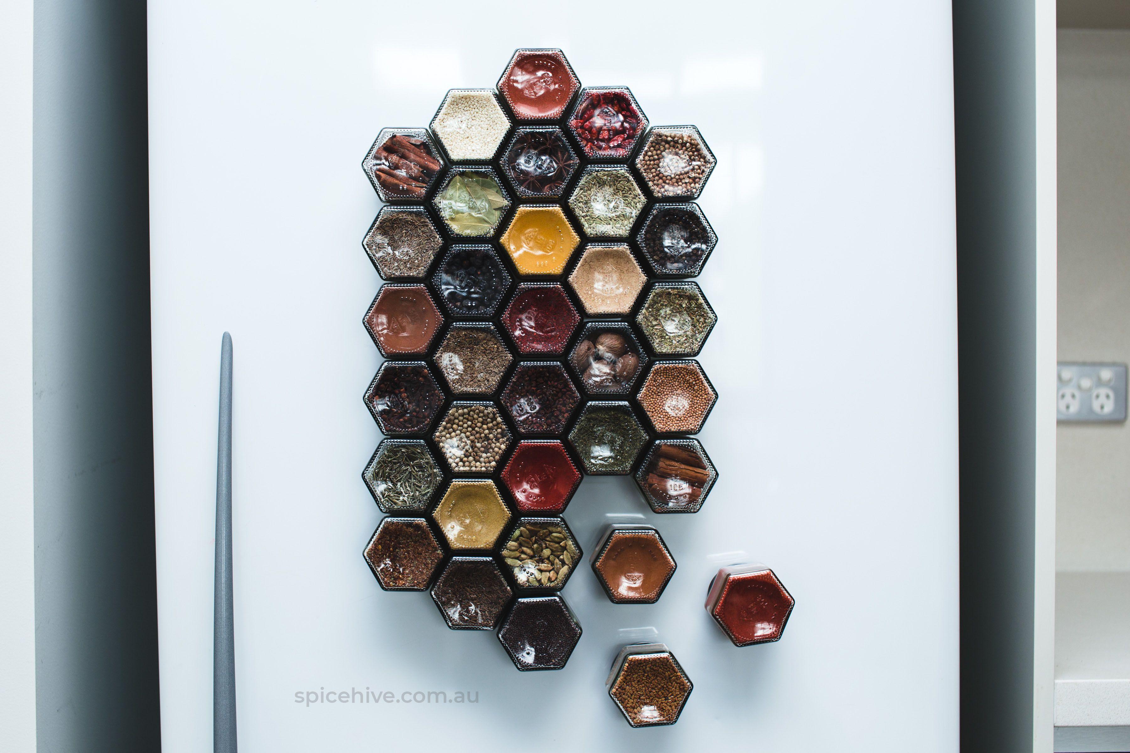 30 hexagonal spice jars diy kit preorder for august