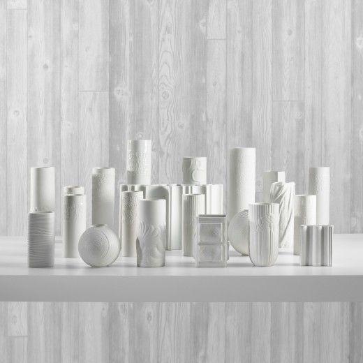 white rosenthal vase white pinterest wei e vasen. Black Bedroom Furniture Sets. Home Design Ideas