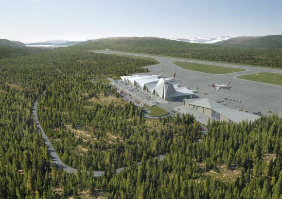 Project - Arctic Circle Airport - Architizer