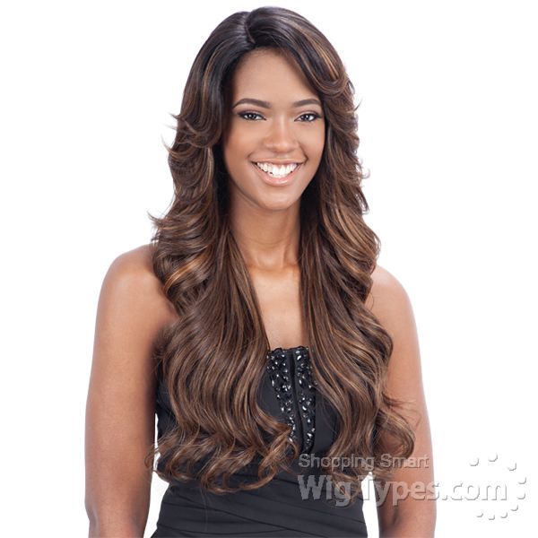 Freetress Equal Lace Front Wig Deep Invisible Part - MIZZY (futura) - WigTypes.com