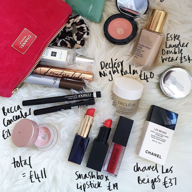 This Celebrity Stylist's Makeup Bag Costs £411 Here's