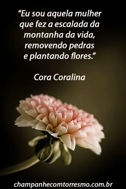 Cora Coralina Frases Lindas Pinterest Frases Poemas E