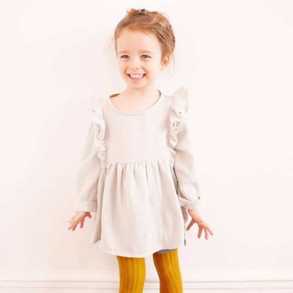 Stella DUO Blouse & Dress - Girl 3/12 - PDF Sewing Pattern
