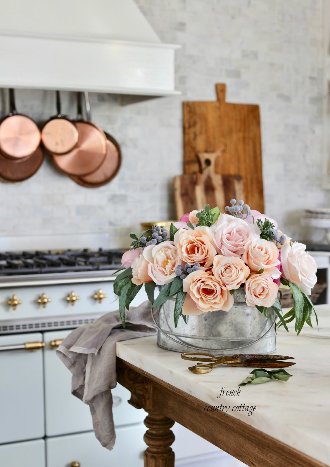 Photo of French Country Friday- French Country Cottage Faux Florals – French Country Cottage