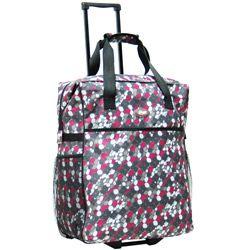 Calpak 'Big Eazy' 20-inch Washable Rolling Shopping Tote Bag