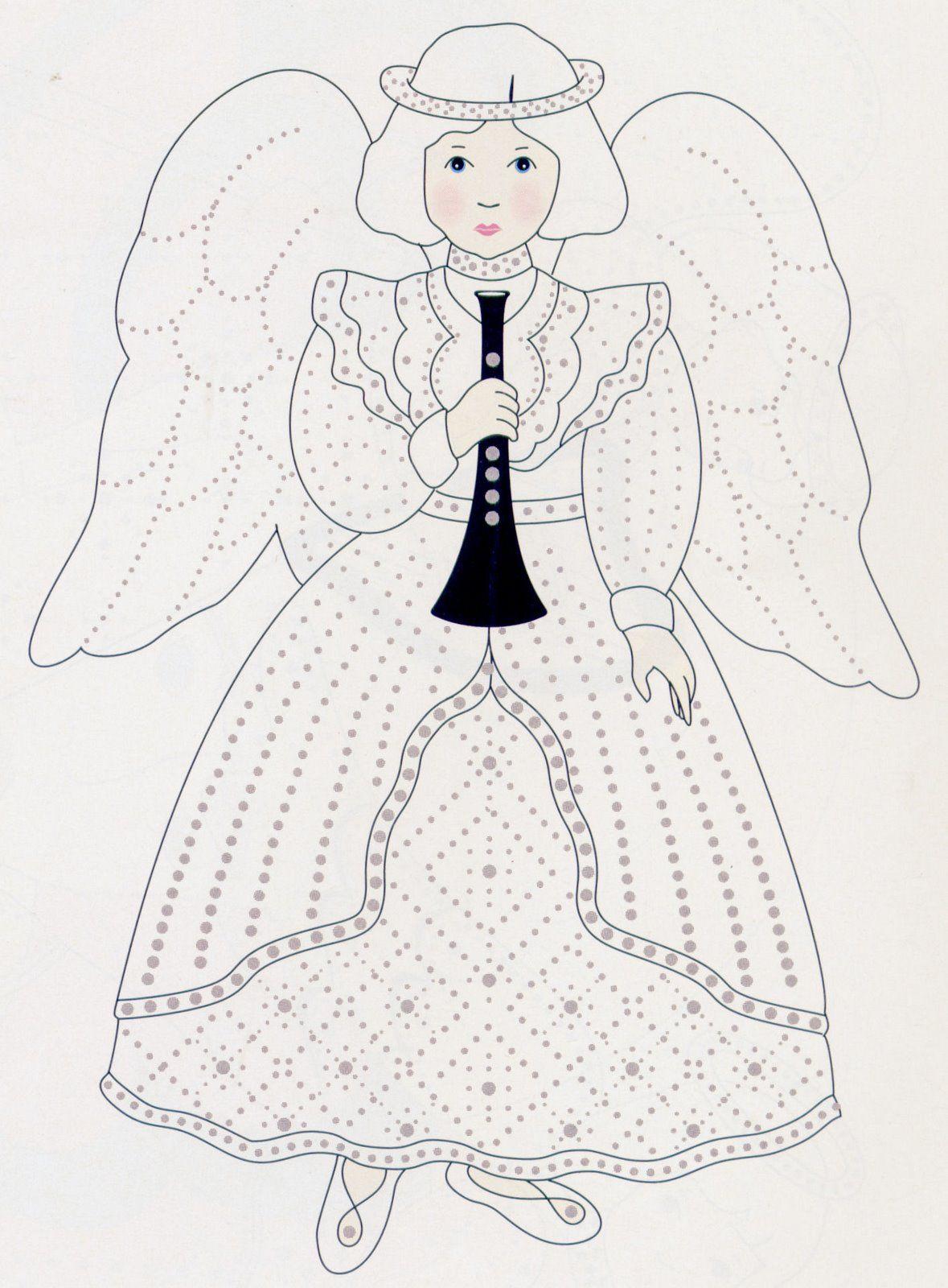 A paper craft idea paper angels angel craft and parchment design a paper craft idea paper angels marges8s blog jeuxipadfo Images