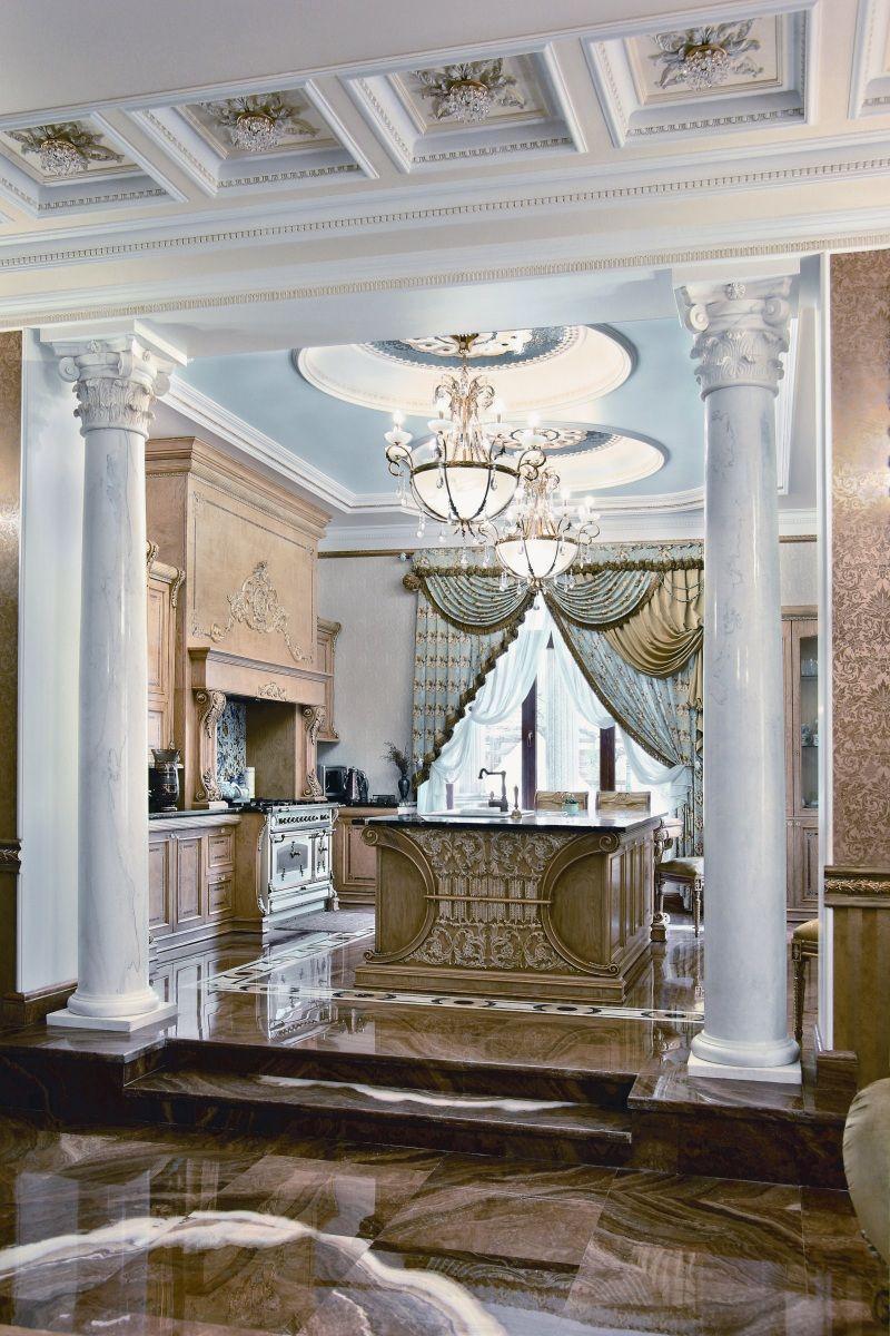 Luxury kitchen Лучшие Интерьеры :: ЛИ №107 :: В