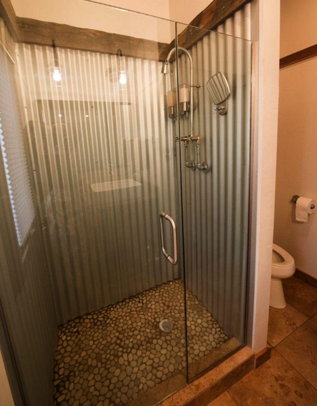 Bathroom Remodel Kit Neither Bathroom Remodel Homewyse Galvanized Shower Galvanized Decor Bathrooms Remodel