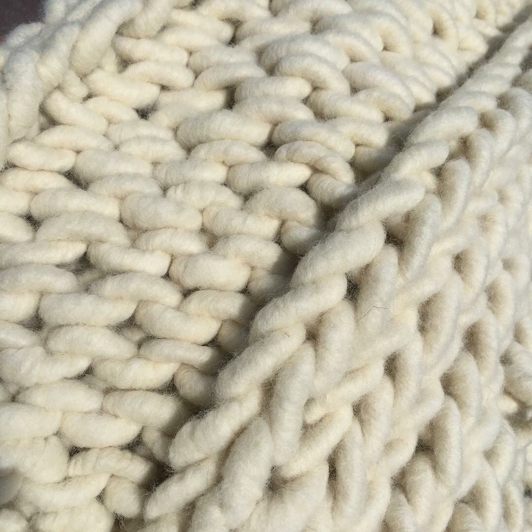 Occasionally northern Michigan summer days are cool enough one can knit a wool blanket in the sun!