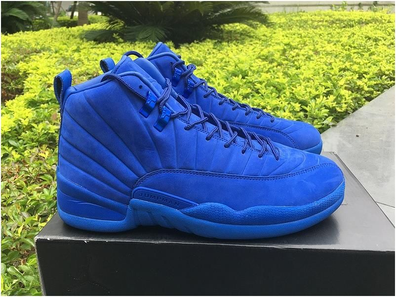 d80f9b647ae Authentic Air Jordan XII Premium Deep Royal Blue3