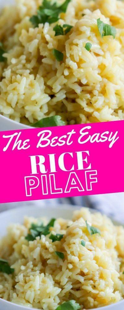 The Best Easy Rice Pilaf - Sweet Cs Designs