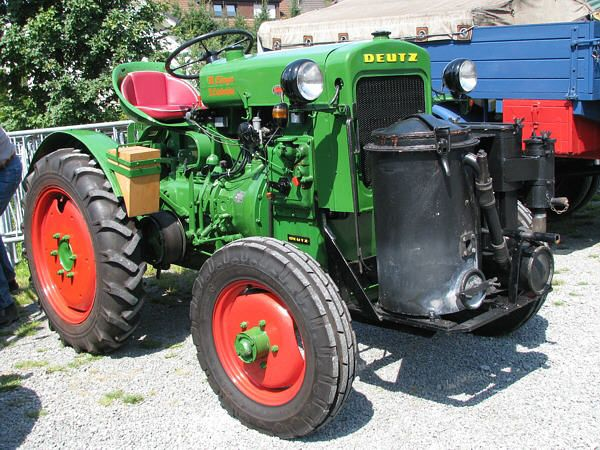 Lieblings Deutz F1M414 Holzvergaser 1m | TRACTORS | Traktoren, Oldtimer @OI_84