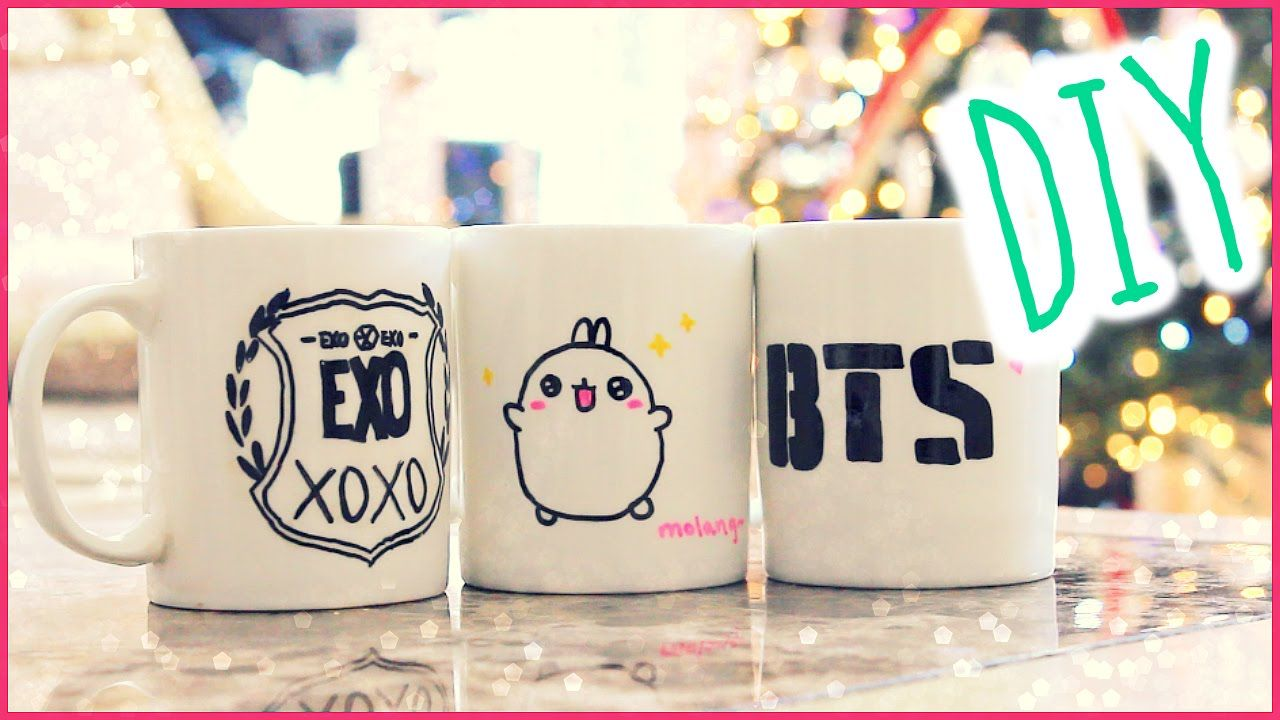 Christmas gift idea diy sharpie mugs kpop crafts and christmas gift idea diy sharpie mugs negle Image collections