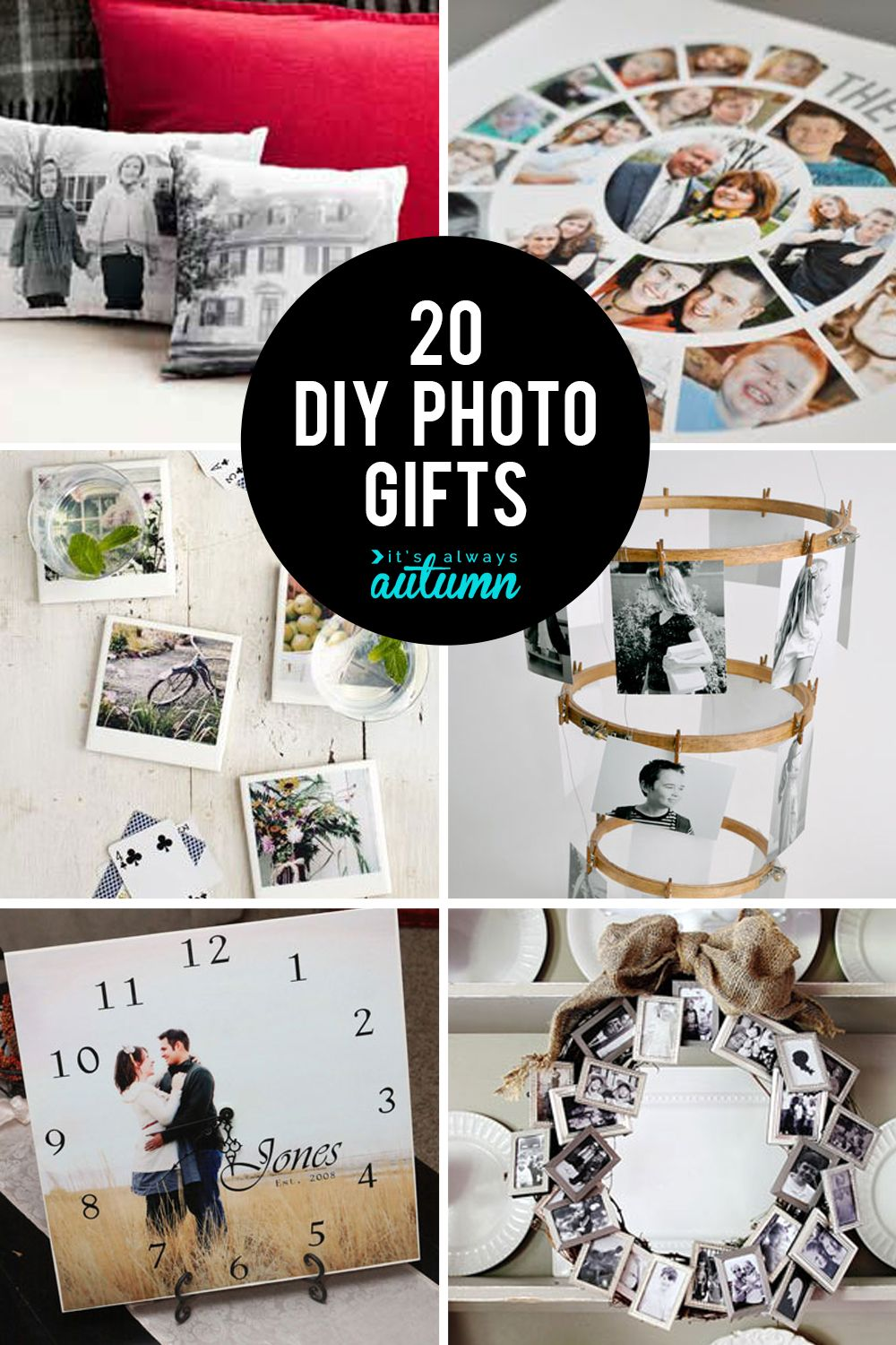 20 fantastic DIY photo gifts perfect for mother's day or
