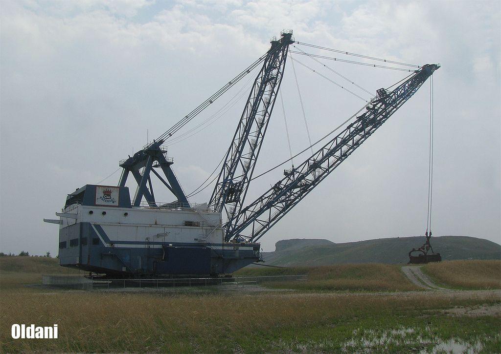 Catenary Coal Company Samples Mine Bucyrus Erie 2570
