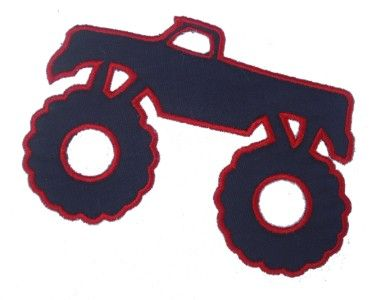 Monster Truck Birthday Cake Template 9x13 Pan Use A