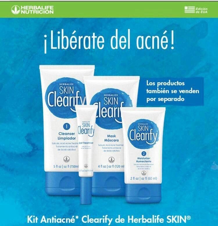 Skin Clearify Acne Kits Skin Cleanser Products Herbalife
