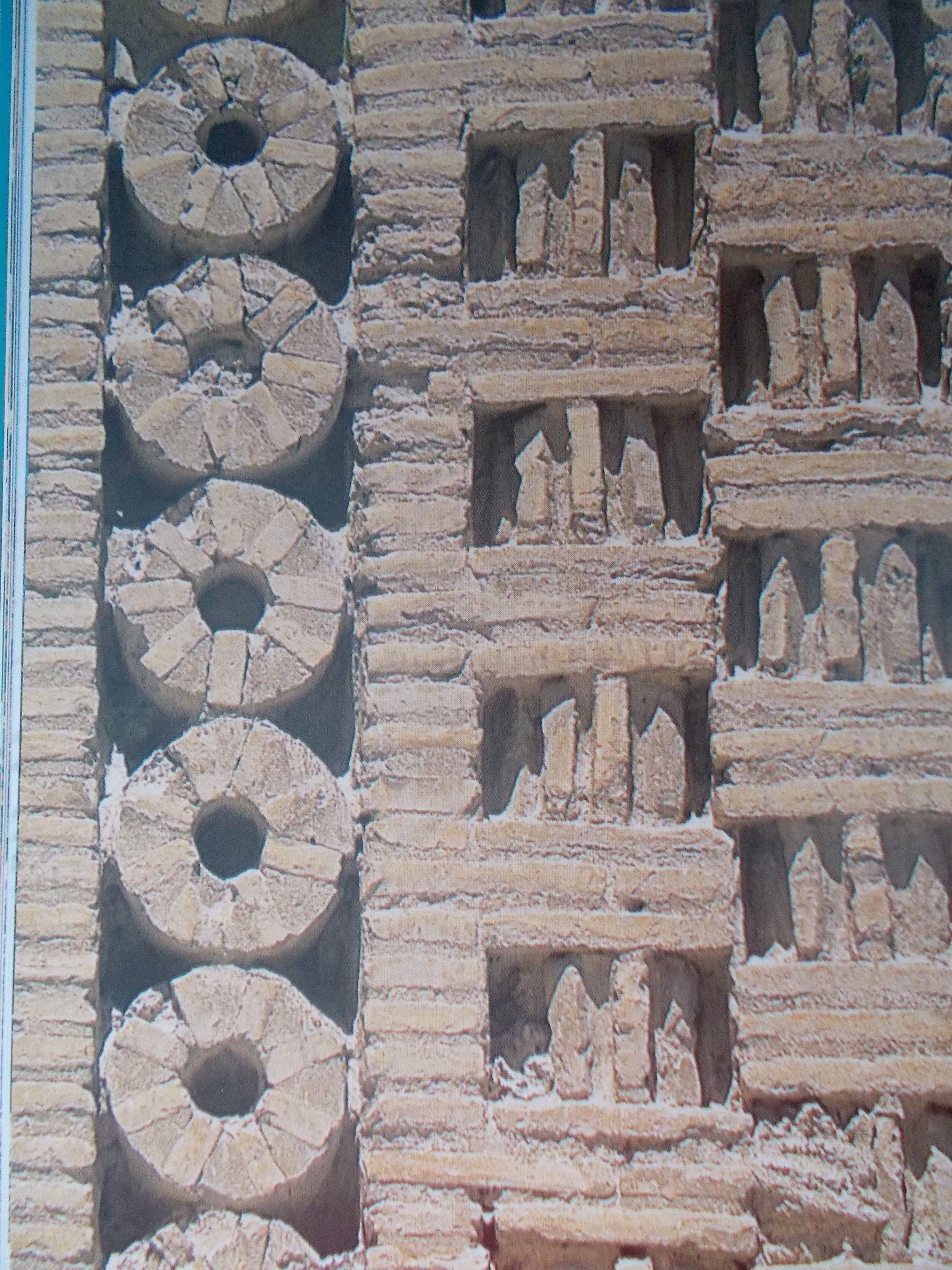Detail Of Brickwork Of Tomb Of The Samanids 920s Bukhara  # Hazan Muebles Gavilan
