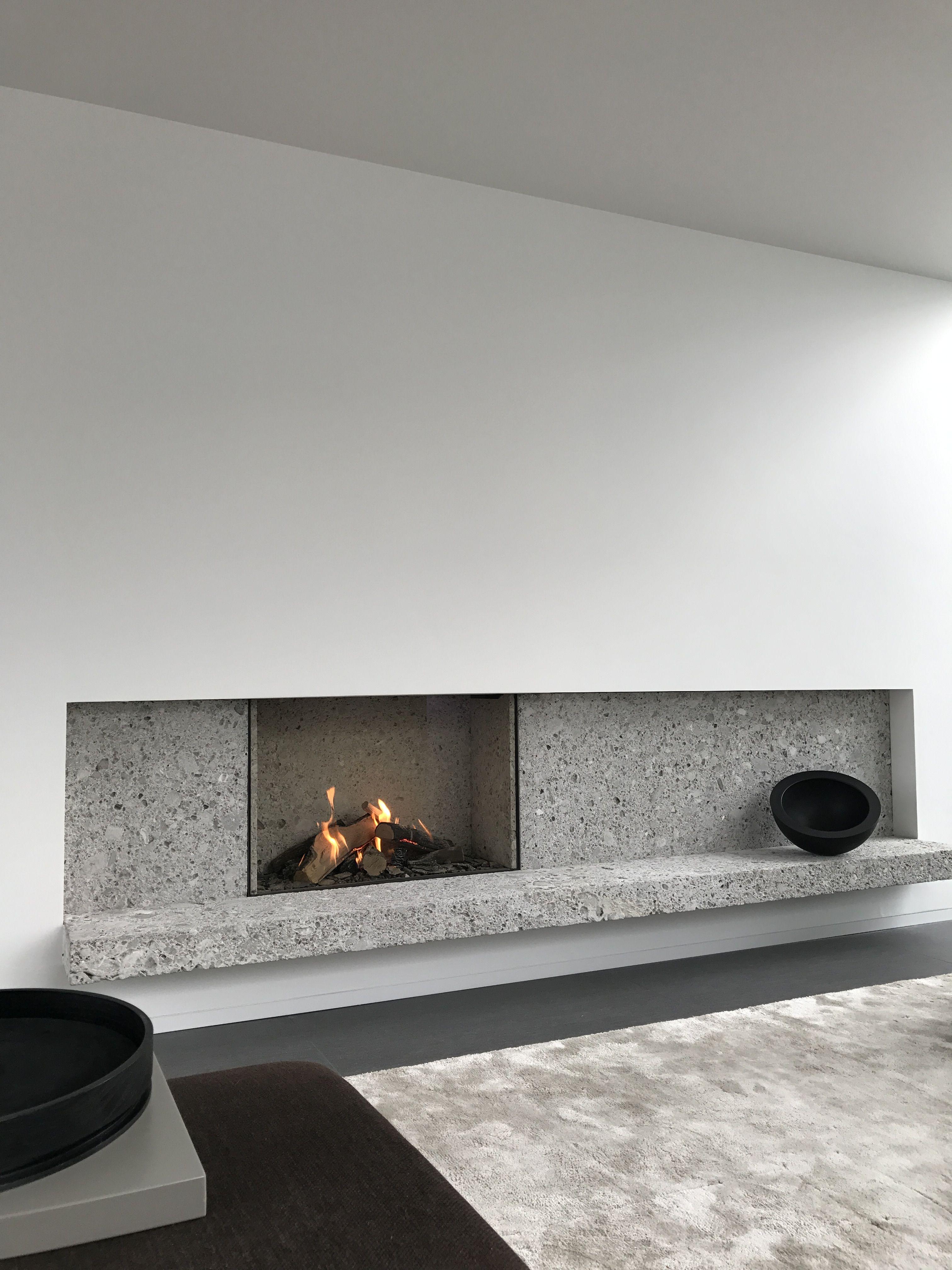 17 Modern Fireplace Tile Ideas Best Design Idee Camino