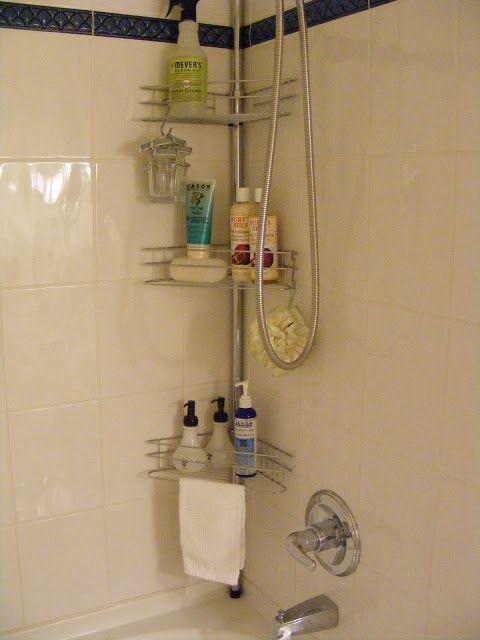 Corner Shower Caddy | <Inside the House> | Pinterest | Corner shower ...