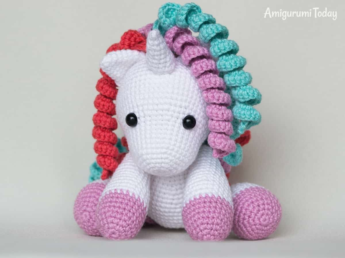Baby unicorn amigurumi pattern - Amigurumi Today | 900x1200