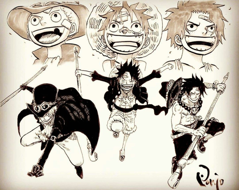 Pin By Ban On One Piece Sabo One Piece One Piece Anime One Piece Manga