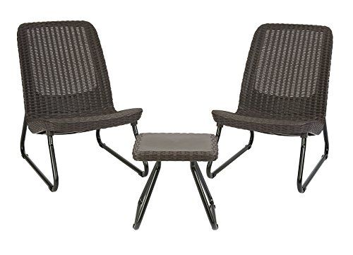 Patio Furniture Sets Keter Rio 3 Pc All Weather Outdoor